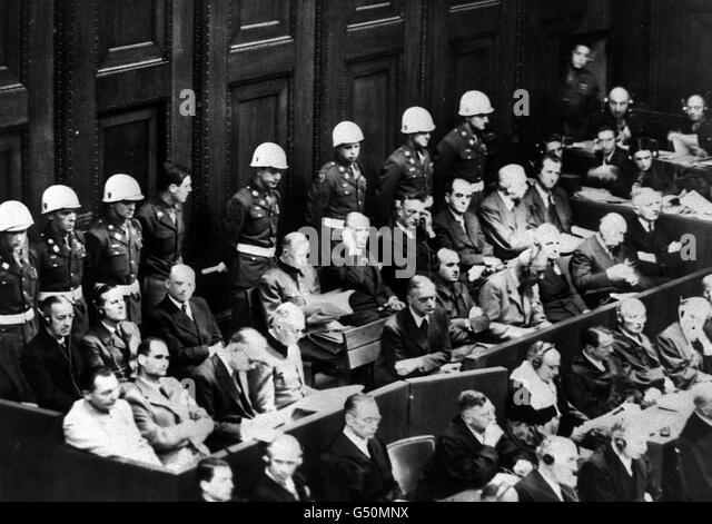 the staging of the nuremberg trials The significance of the nuremberg trials to the armed forces pre'lliously unpublished personal obser'llations by the chief counsel  stages in secret, the raising .