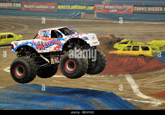 Monster Jam Truck Madusa Stock Photos  Monster Jam Truck Madusa