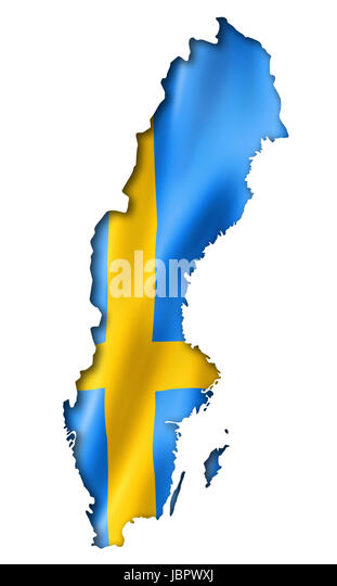Outline Map Of Sweden Stock Photos Outline Map Of Sweden Stock - Sweden map outline