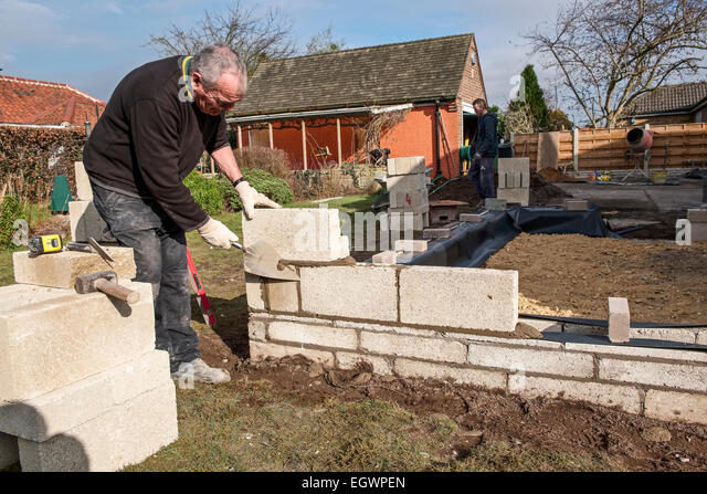 how to make and mortar for cement blocks