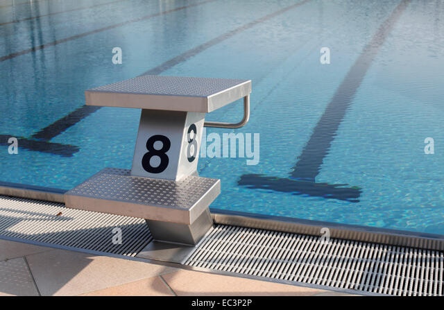 Diving board indoor stock photos diving board indoor stock images alamy for Swimming pool diving board tricks