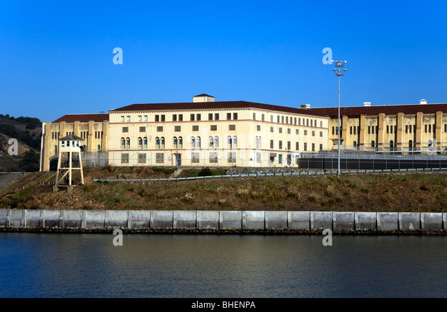 San Quentin prison, Point San Quentin, Northern California, USA ...