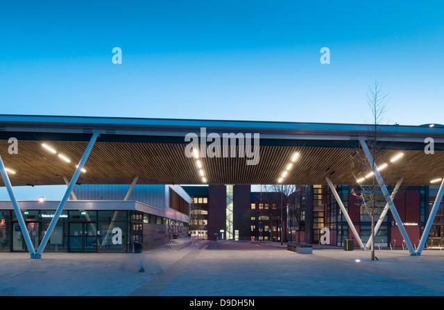 Stoke Bus Station On Trent United Kingdom Architect Grimshaw 2013