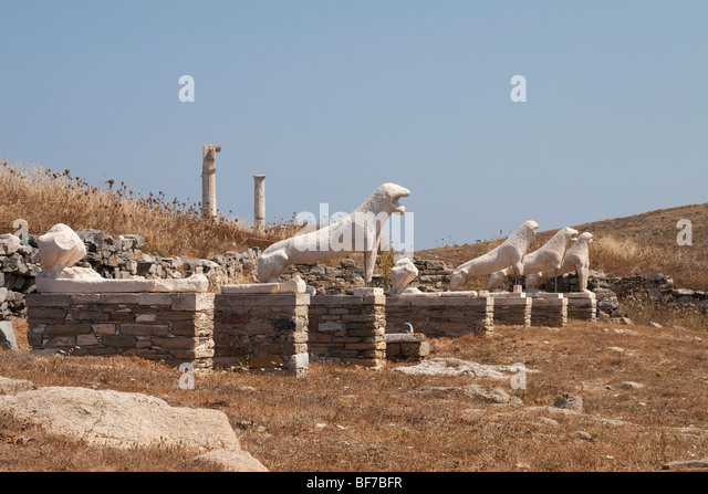Delos Statues Stock Photos & Delos Statues Stock Images ...