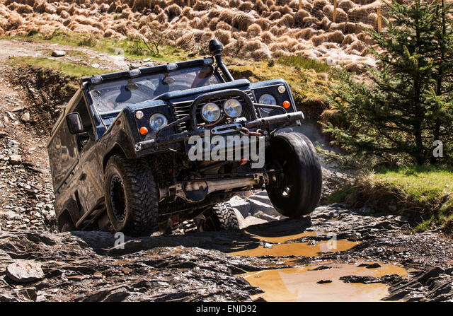 Land Rover Defender Off Road Stock Photos Amp Land Rover