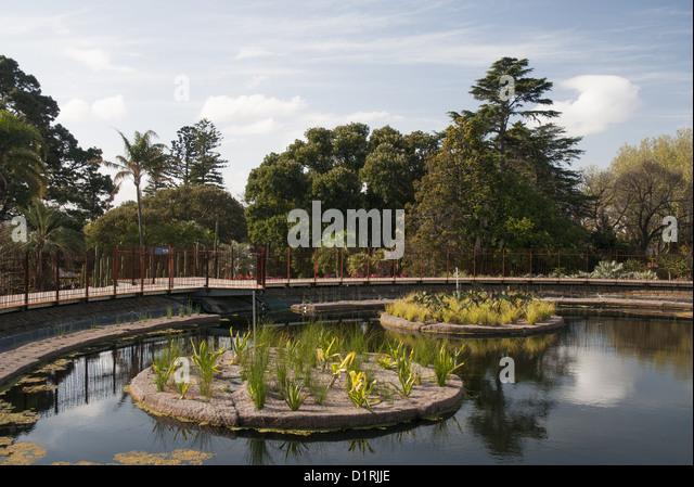 Melbourne royal botanical gardens stock photos melbourne for Garden pond melbourne