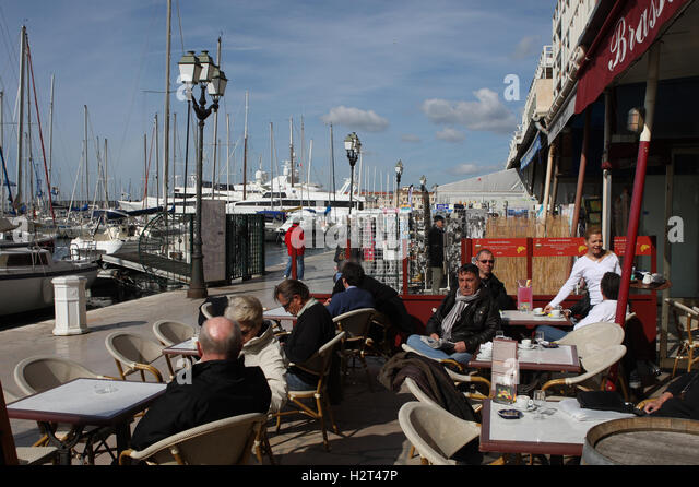 French cafe outdoor europe front stock photos french cafe outdoor europe front stock images - Bistrot du port nice ...