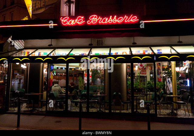 Bar  Ef Bf Bd Caf Ef Bf Bd Rue Lepic Paris