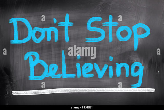 Dont Stop Believing Stock Photos & Dont Stop Believing