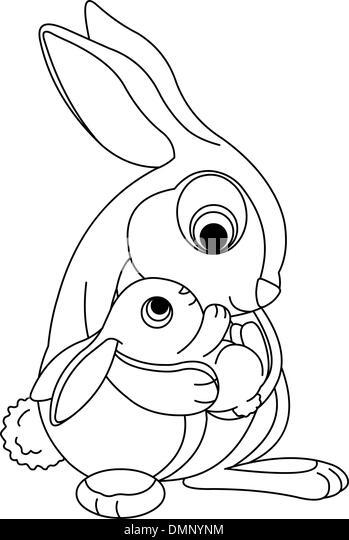 bunny hug stock photos bunny hug stock images page 3 alamy Construction Vehicles rabbit hood bw stock image