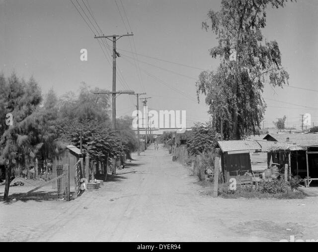 Home of mexican field worker showing water supply brawley imperial