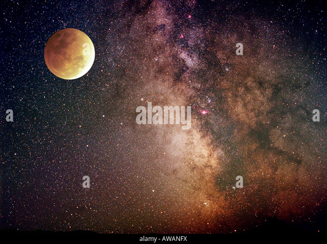 starry sky with planets - photo #38