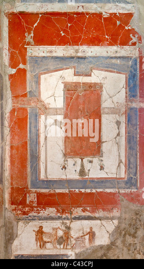 Ancient roman fresco stock photos ancient roman fresco for Ancient roman mural