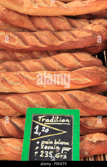 france food market bread stock photos france food market bread stock images alamy. Black Bedroom Furniture Sets. Home Design Ideas
