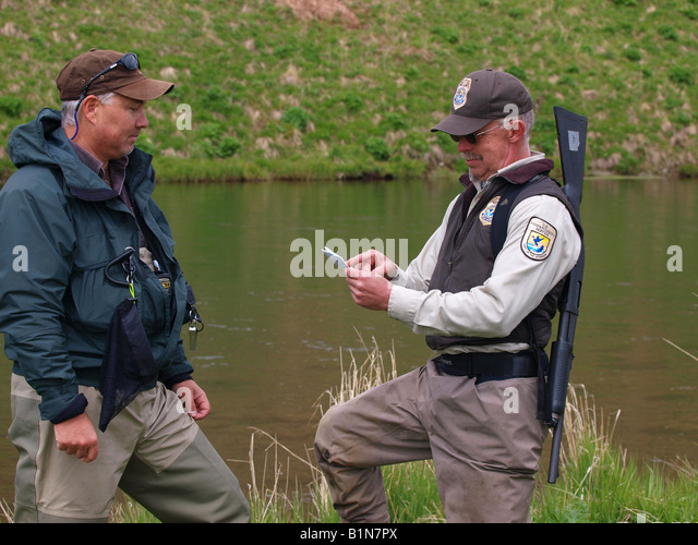 Fish and game warden stock photos fish and game warden for Wildlife fish and game