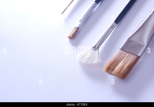 Usb Flash Memory with Pen and Blank Paper Stock Photos