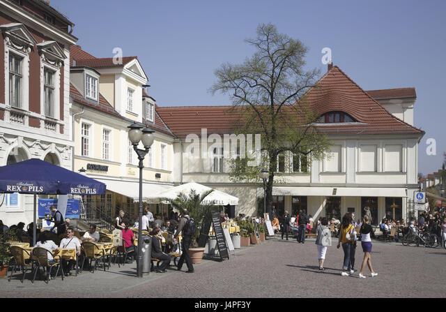 Germany Brandenburg Potsdam Brandenburg Street Stock Photos ...
