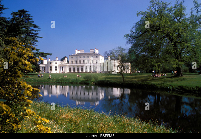 Frogmore House And Lake Windsor Castle Home Park Berkshire England UK