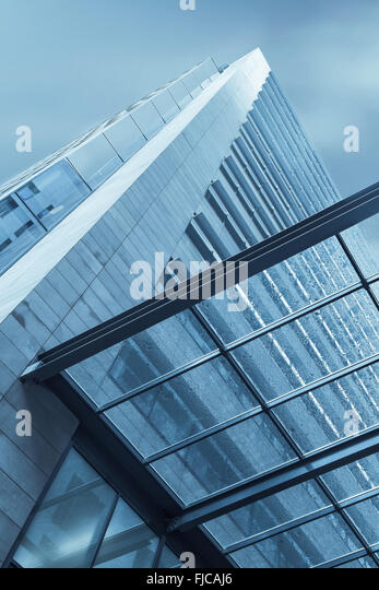 Blue Glass Canopy Stock Photos Blue Glass Canopy Stock