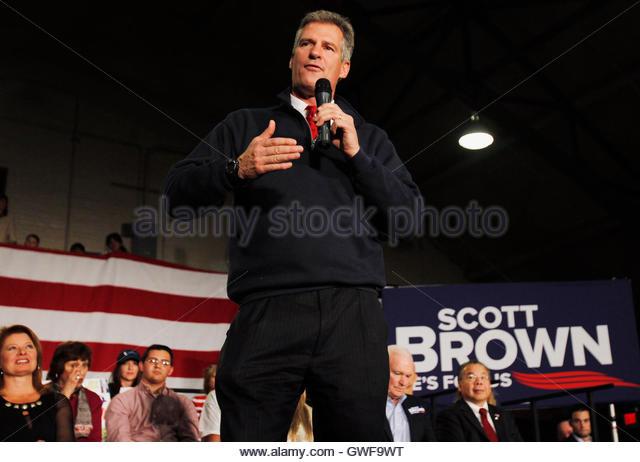 Massachusetts Senator Scott Brown Stock Photos ...