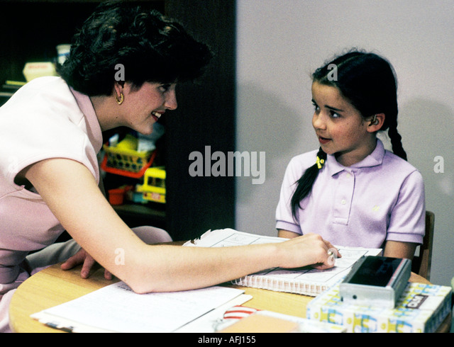 how to help a hearing-impaired child at school