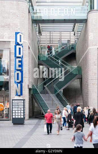 shopping centre escalator stock photos shopping centre. Black Bedroom Furniture Sets. Home Design Ideas