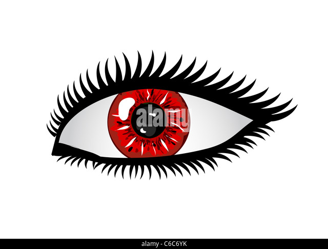 Blue Iris Eye Cut Out Stock Images Amp Pictures Alamy