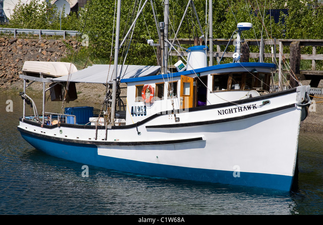 Icy strait hoonah alaska stock photos icy strait hoonah for City island fishing boats