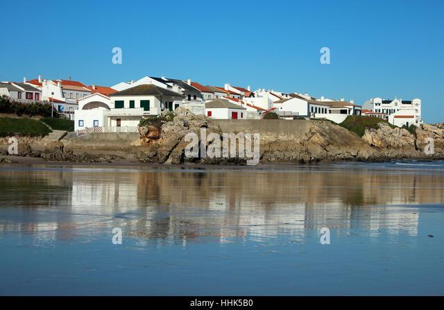 Baleal Peniche Portugal Stock Photos Baleal Peniche Portugal - Portugal map baleal