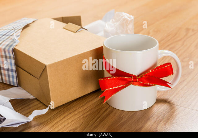 Bad gift wrap stock photos bad gift wrap stock images alamy worst gift cup stock image negle Images