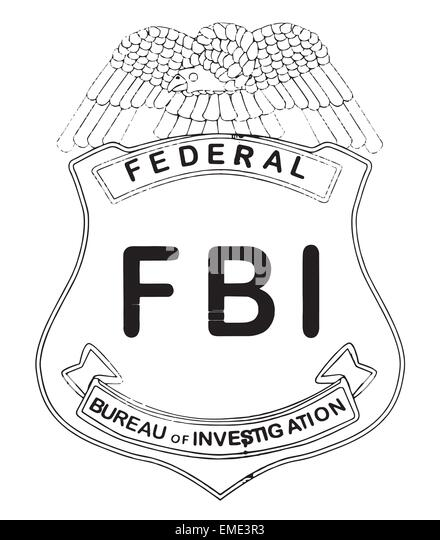 Fbi badge stock photos & fbi badge stock images alamy Racist Coloring Pages FBI Gun Coloring Pages FBI Gear Coloring Pages