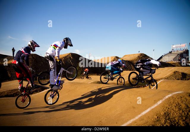 BMX Track Race London Olympics Park