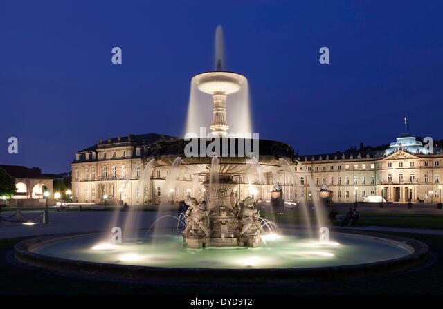 palace square stuttgart germany stock photos palace square stuttgart germany stock images alamy. Black Bedroom Furniture Sets. Home Design Ideas