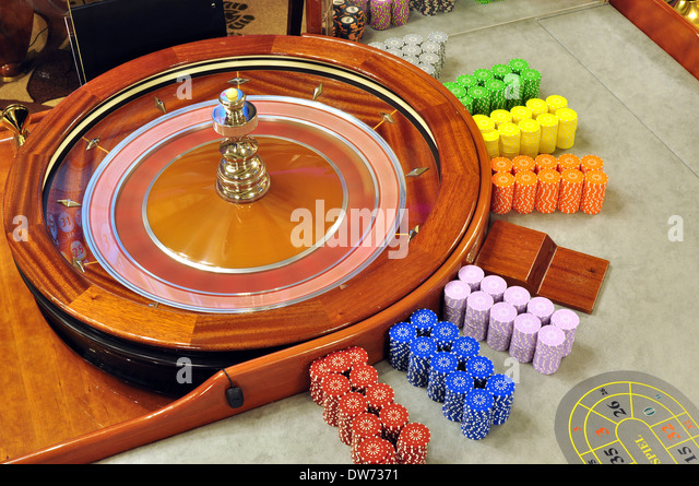 S a spinning roulette wheel at a casino casino com terrible