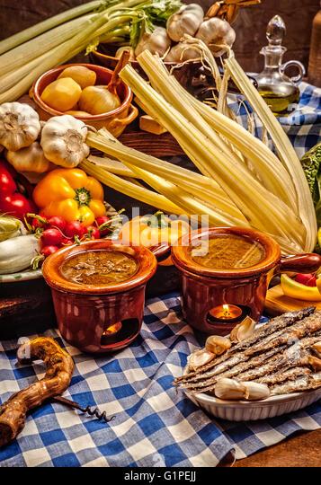 Bagna Caôda Gastronomy Stock Photos & Bagna Caôda Gastronomy Stock ...