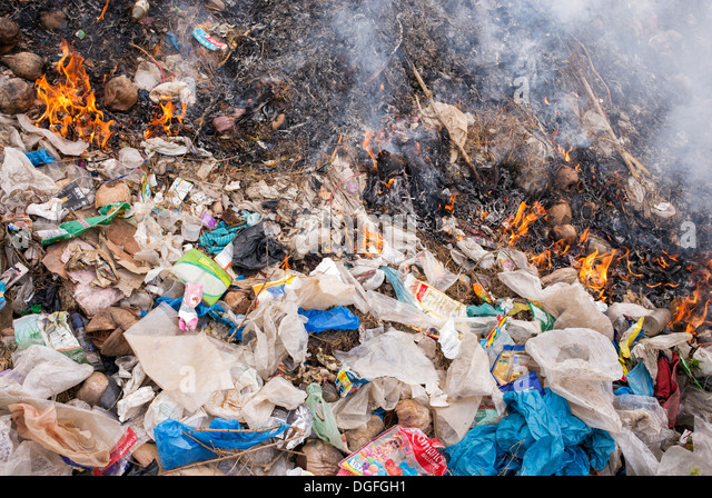 Burning material stock photos burning material stock for Indian waste material things