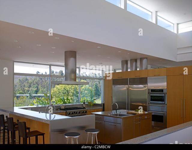 sharpe residence somis california stock image