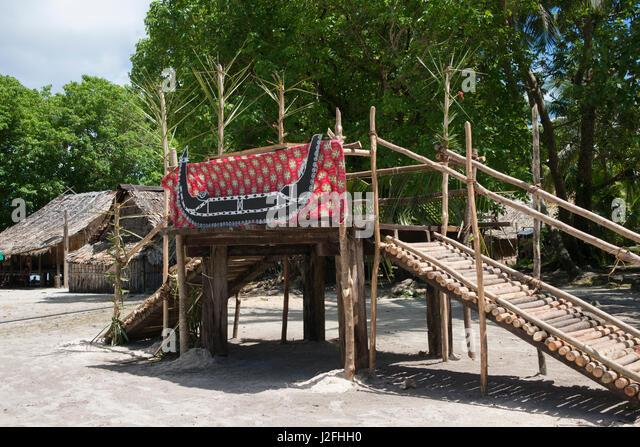 Melanesian Architecture Stock Photos Amp Melanesian