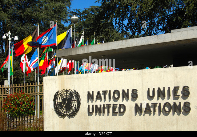 United Nations Flags Headquarters Stock Photos & United ...