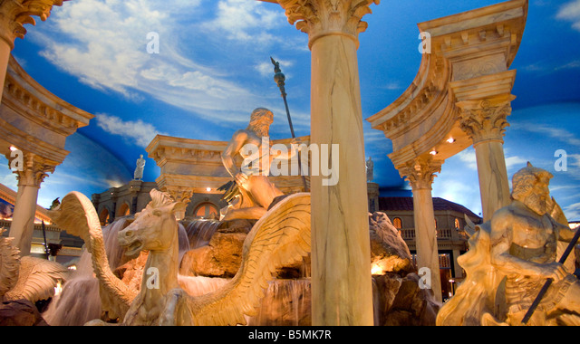 Caesers stock photos caesers stock images alamy for Garden statues las vegas nv