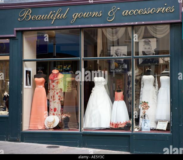 Wedding Dress Store Display