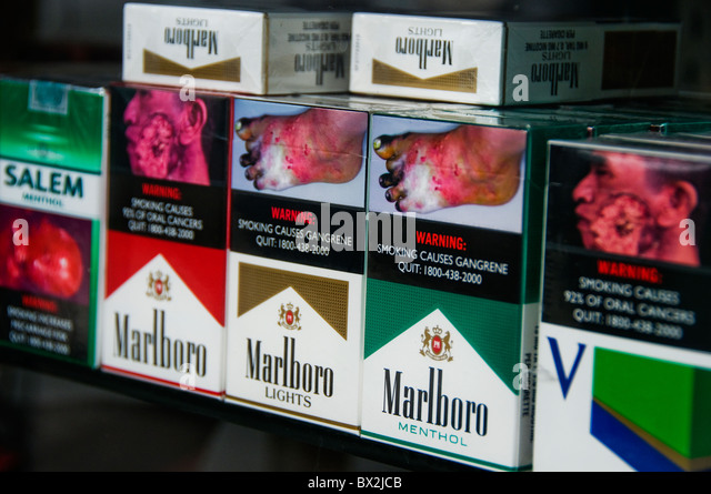 How much nicotine in Marlboro menthol gold