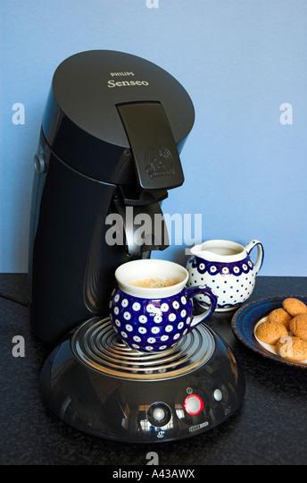 coffee machines stock photos coffee machines stock. Black Bedroom Furniture Sets. Home Design Ideas