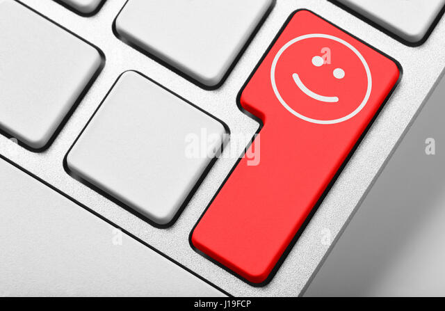 Smiley face keyboard