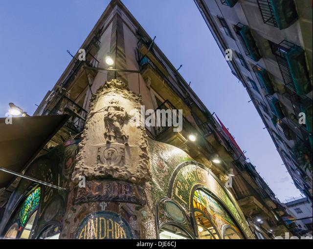 Escriba stock photos escriba stock images alamy - Art deco barcelona ...
