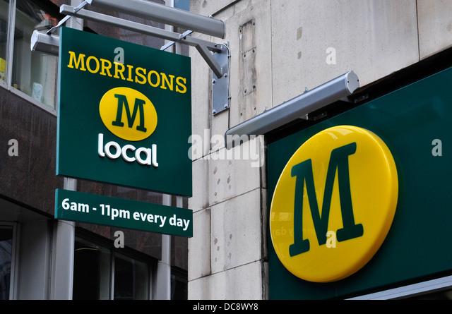 Supermarkets uk stock photos supermarkets uk stock images alamy - Morrisons plc head office ...