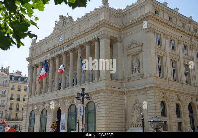 Bourse du commerce stock photos bourse du commerce stock for Chambre de commerce marseille
