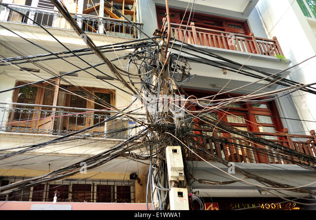 electrical wiring stock photos & electrical wiring stock ... electrical wiring in vietnam #4