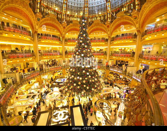 Assez Shopping Mall Galeries Lafayette Stock Photos & Shopping Mall  NF22