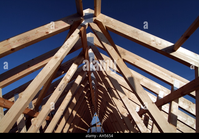 Zox stock photos zox stock images alamy for Prefabricated wood trusses